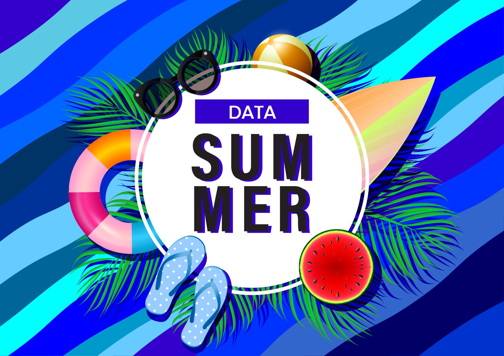 Image illustrative de l'article Data Summer, les dernières news IA et Data science de l'été