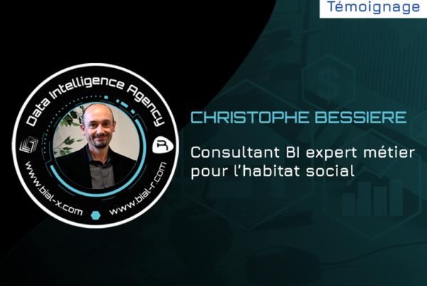 Christophe Bessiere, consultant BI expert métier pour l'habitat social